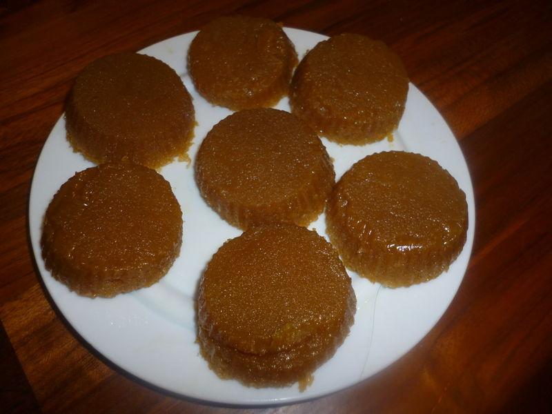 Quindim – flan coco brésilien