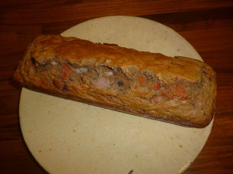 Cake Au Sarrasin Sans Gluten Aux Lardons