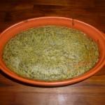 Soufflé aux épinards sans lait sans gluten