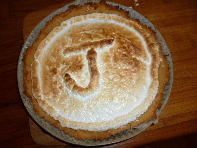 Tarte au citron meringu e sans lait sans gluten - Recette tarte au citron sans meringue ...