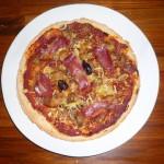 Pâte à pizza fine sans gluten