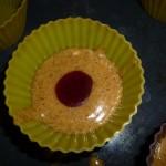 Muffin à la confiture sans lait sans gluten