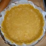Pâte à tarte à la farine de pois chiche