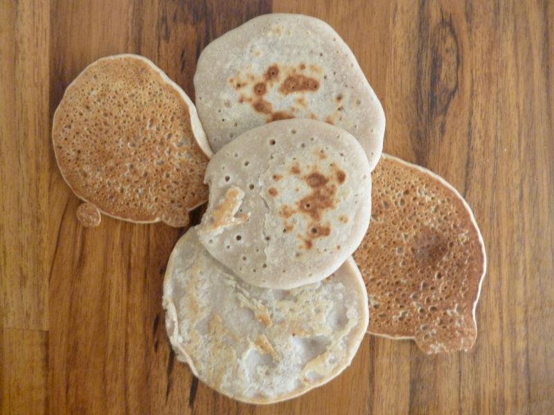 Pancakes à la châtaigne