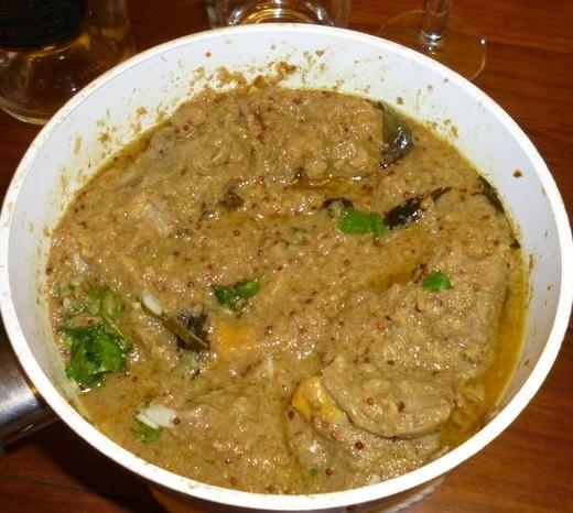 Curry d'agneau à la Chettinad