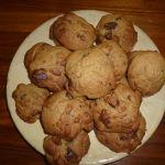 Cookies sans gluten et sans beurre